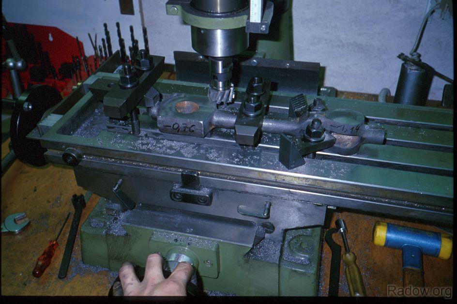 Dampfmaschinenpleuel (Radow © 1997)