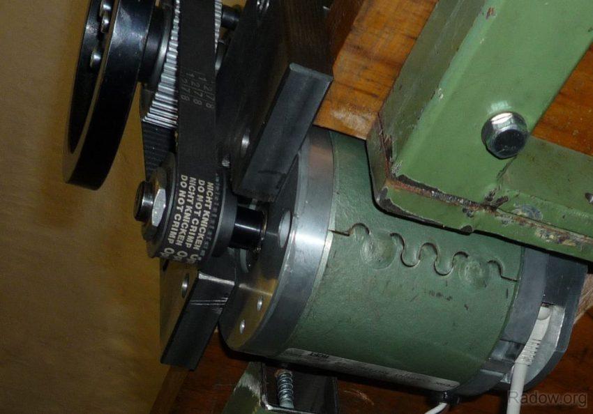 DC-Motor Y-Achse - Unteransicht