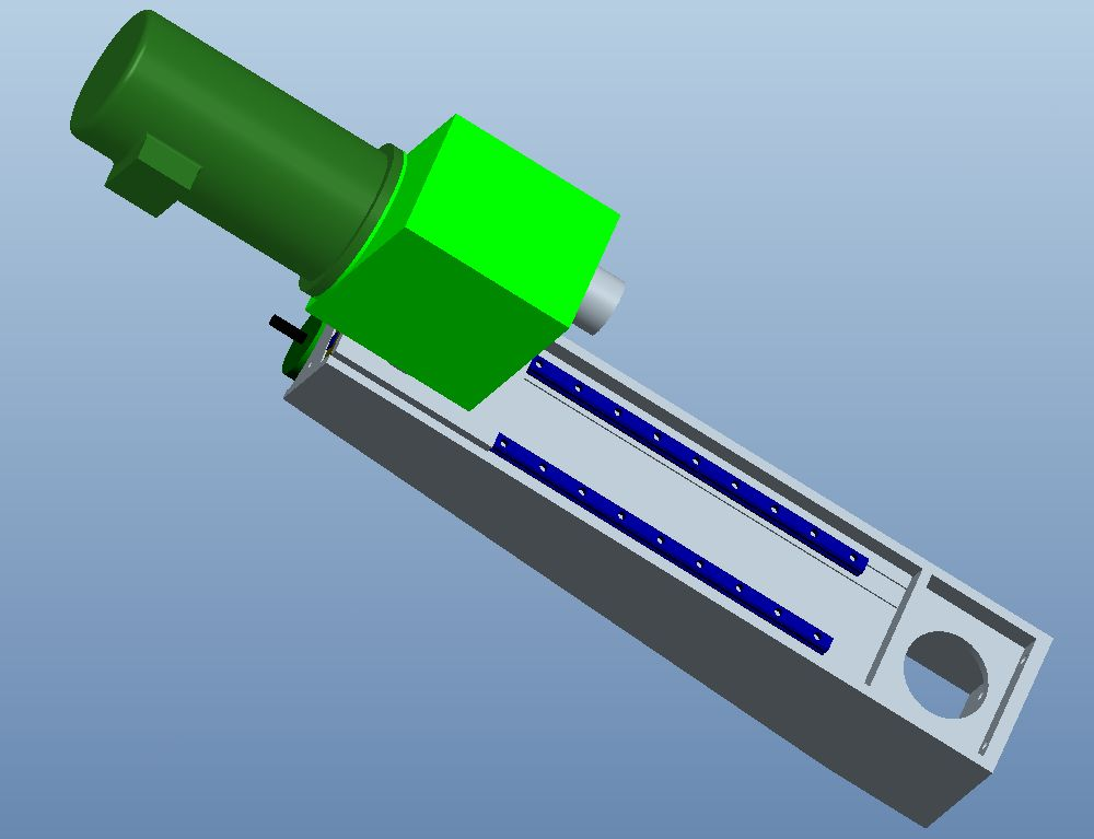 Z-Achse - CAD Modell (Radow © 2012-07-16)