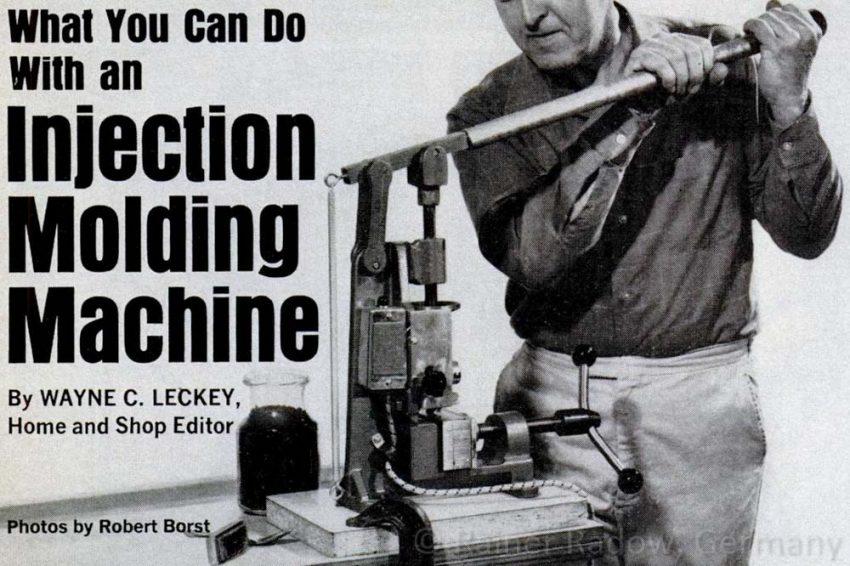 Spritzguss DIY Lösungen aus den 60ger Jahren