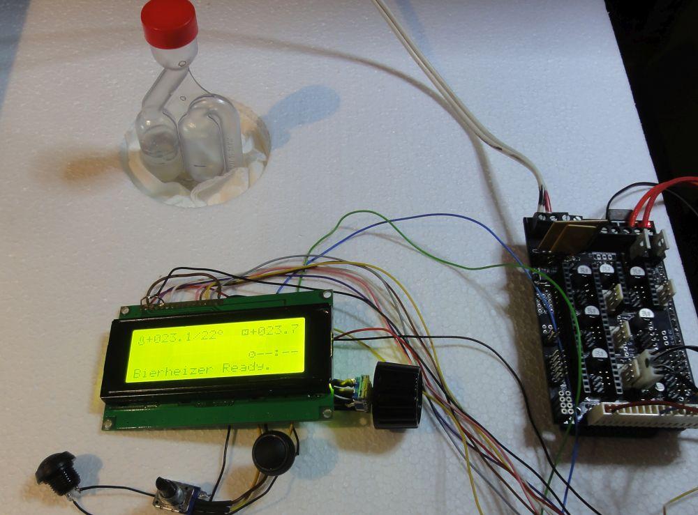 3D-Druckerhardware zur Thermosteuerung
