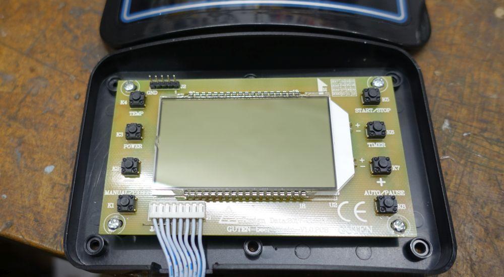 LCD-Display mit Bedienfeld - Klarstein Mundschenk V2