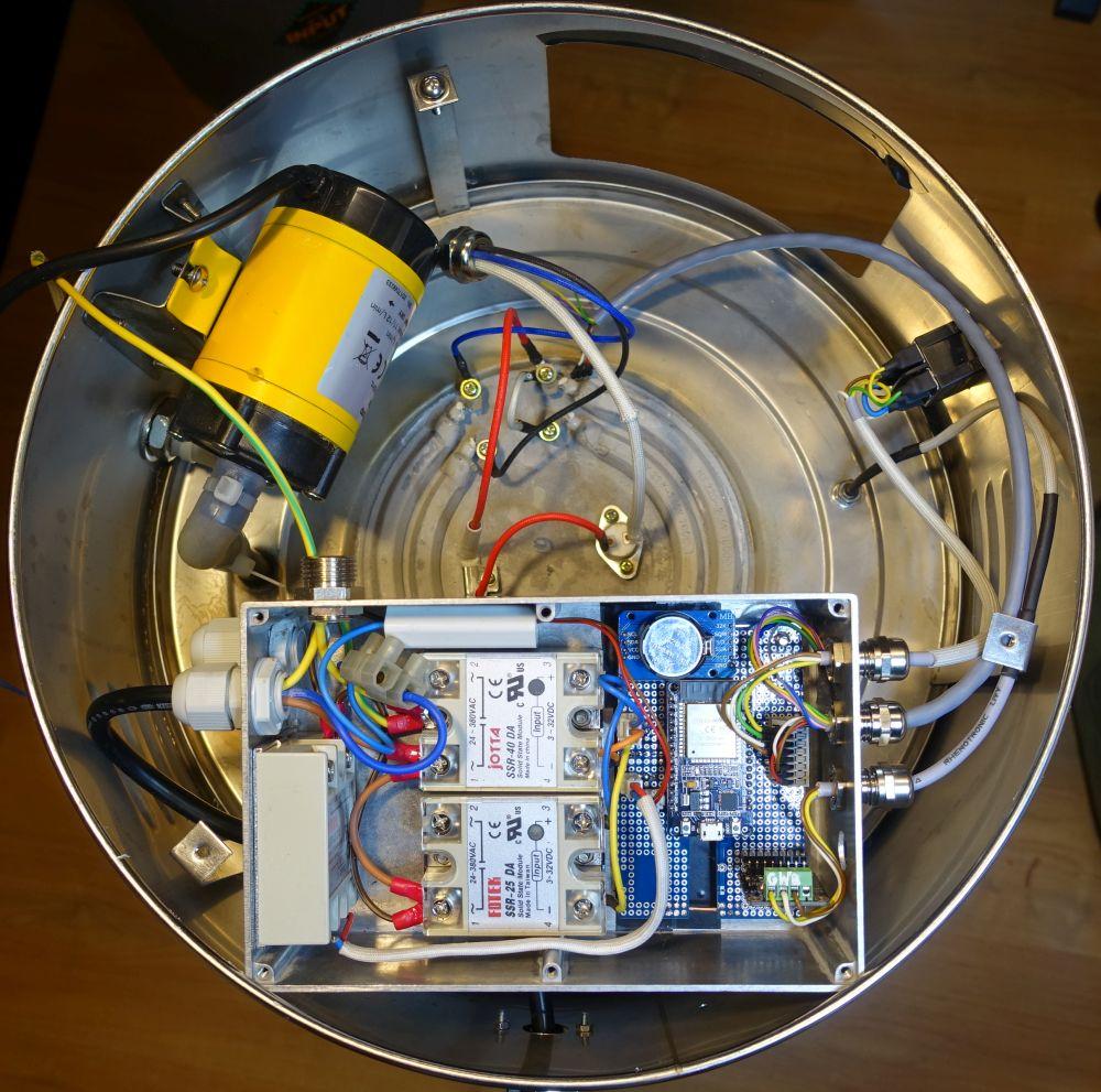 Brausteuerung mit dem ESP 32 und einem NEXTION Display | Arduino