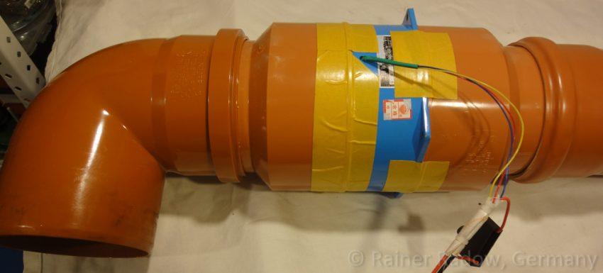 Absaugung für Shenhui G350 CO2 Laser