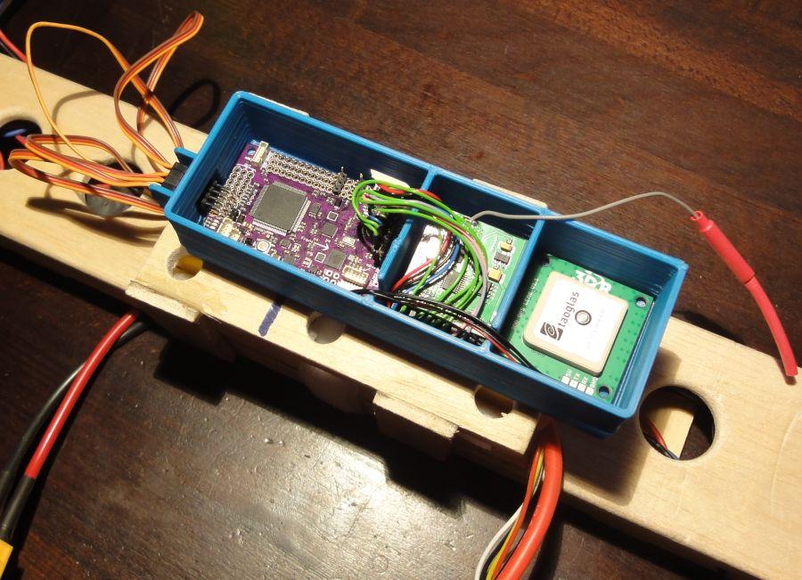 3D-Gedruckter Elektronikträger