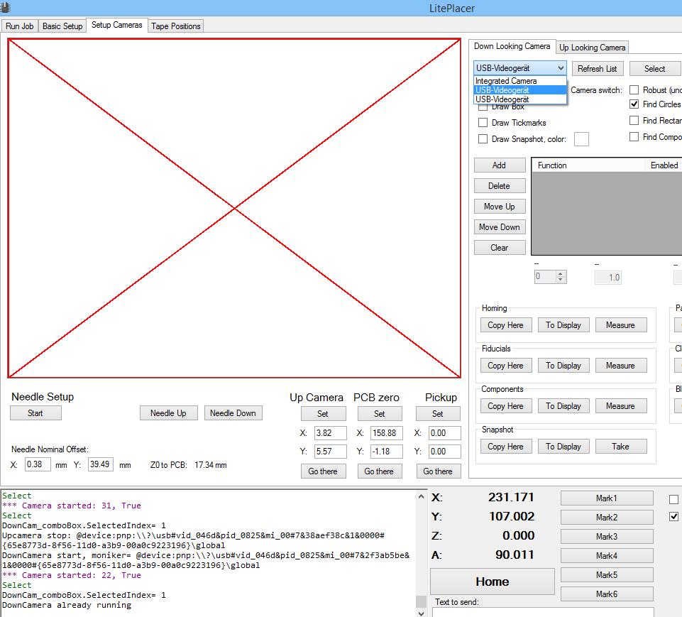 Lite-Placer Software - Screenshot